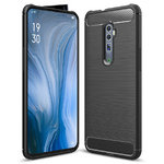 Flexi Carbon Fibre Case for Oppo Reno 5G / 10x Zoom - Brushed Black